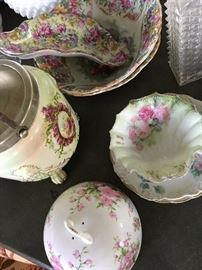 Huge selection of French, German, English porcelain