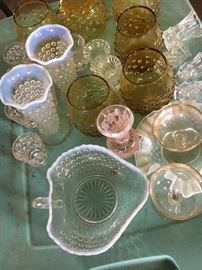 Great selection of decorative glassware