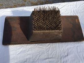 Primitive Flax Comb