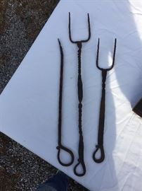 Hand Forged forks