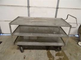 60''x30'' (3) Tier Stainless Cart
