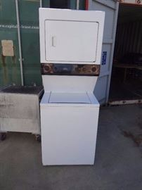GE Stacked Washer/Dryer Combo