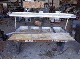 Eagle 64'' Steam Table
