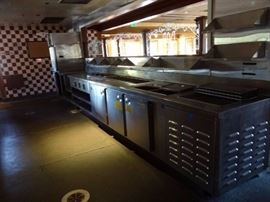19' Stainless Server Station Line