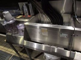 Fully Stainless Bar Back Ice Well With Drink Stati ...