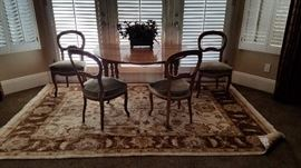 17th Century Dining Set w/6 Chairs