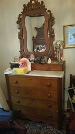 Antique Eastlake Victorian dresser