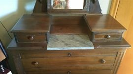 Top view of dresser