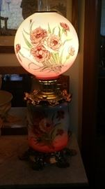 Gorgeous Gone with the wind lamp