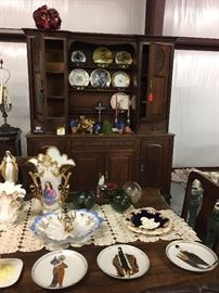 Old Paris collection and Diva plates