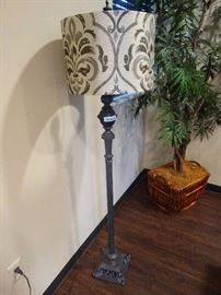 Nice floor lamp w/ decorative shade