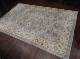 Woolmark 5' x 8' area rug