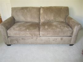 LARGER LOVESEAT BY POTTERY BARN