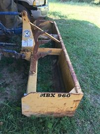 Ford 6600 with Front End Loader and Box Blade- Fully Operable