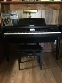 Clavinova digital piano. Yamaha