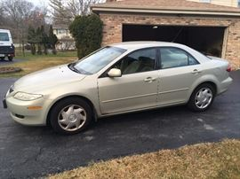 Grandpa's 2004 Mazda 6. 106,000 miles, new tires in 2015. Runs great! Asking $3,600 or best offer.