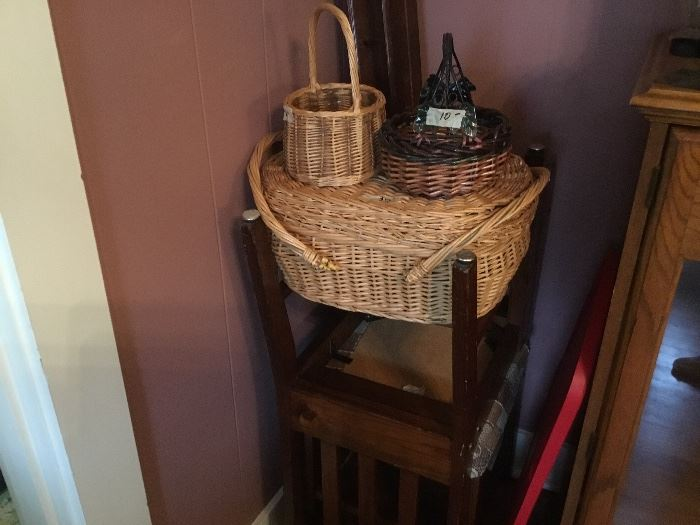 Baskets - also 2 chairs