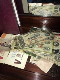 ANTIQUE PAPER CURRENCY