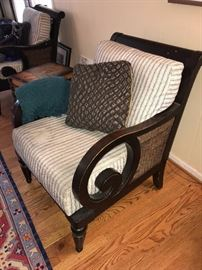 WOODEN CHAIRS-NEED TO BE REUPHOLSTERED