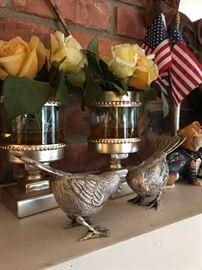 METAL BIRDS HOME DECOR'