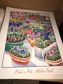 LOTS OF HELEN PAUL POSTERS