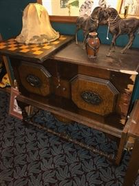 ANTIQUE BUFFET-NEEDS REPAIRS-SOLD AS IS
