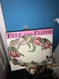 FITZ AND FLOYD PLATTER