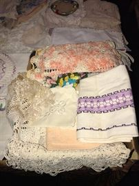 VINTAGE HAND-MADE LINENS