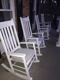 OUTDOOR PATIO FURNITURE-ROCKING CHAIRS