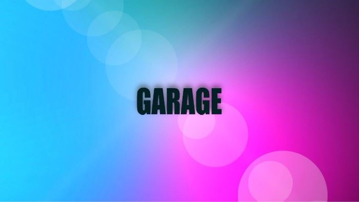 GARAGE AND OUTSIDE
