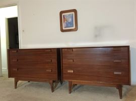 Pair of Risom Dressers