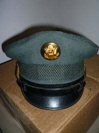 WWII ARMY CORP HAT?