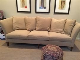 Another angle of Design Center Sofa - PLEASE NOTE:  ART ABOVE SOFA IS NOT FOR SALE
