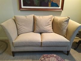 "Matching Design Center Custom Loveseat:  73.5"" wide x 38"" deep"