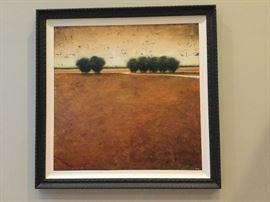 "Robert Cook ""Amber Fields"" Embellished Giclee on Canvas.  Total Edition Size 195"