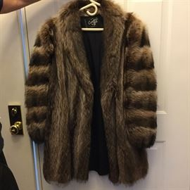 Women's Mid-Length Fur Coat