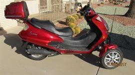 2012  dongfang Trike 5094 KM $1400.00 OBO