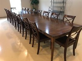 Multiple Crate & Barrel Kitchen Tables with matching chairs. Willing to separate.