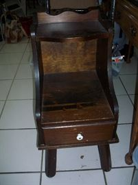 Small Vintage Bedside stand with drawer