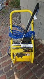 Karcher 2400 PSI power washer. Very good condition