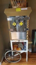Gold Medal Antique Popcorn Machine.