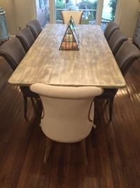 Dining Table / Upholstered Chairs