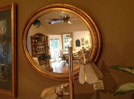 Oval Mirror $ 50.00