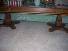 side view of the coffee table