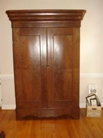 Antique , walnut wardrobe, breakdown