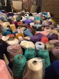 Knitting Yarn tons of it!!