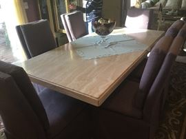 Stone International Dining Table - Made in Italy.