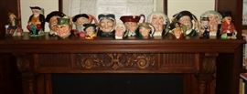 ROYAL DOULTON TOBY MUG COLLECTION