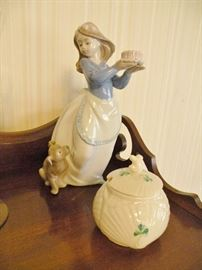 Lladro. Belleek.