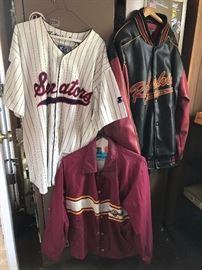 Redskin Jackets & Senators Shirt